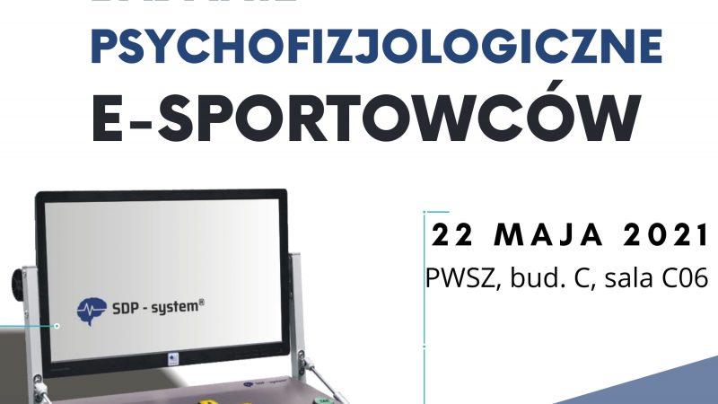 Badanie psychofizjologiczne e-sportowców na tarnowskiej PWSZ